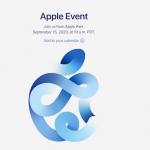 Apple organizează evenimentul de toamnă pe 15 septembrie: Time Flies